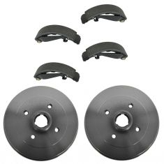 Rear Brake Shoe & Drum Set AXS662, AX3829