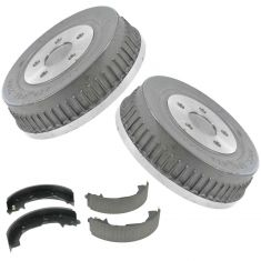 Rear Brake Drum & Shoe Set AXS665R, AX80011