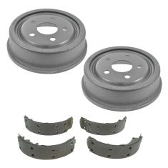 Rear Brake Shoe & Drum Set AXS553R, AX8898