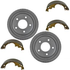 Rear Brake Shoe & Drum Set  AXS514, AX8988
