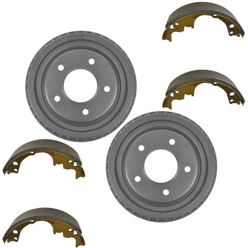 How To Install Replace Rear Drum Brakes Chevy S 10 Gmc S