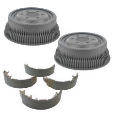 Rear Brake Shoes & Drum Set  AXS445, AX8993