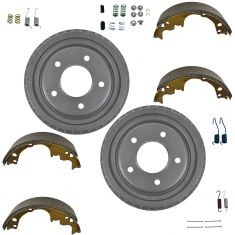 Rear Brake Shoe,  Drums & Hardware  Set AXS514, AX8988, H7104