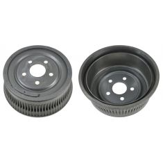86-95 Chrysler Mini Van 14 Inch Rear Drum LR = RR PAIR
