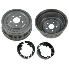 86-95 Chrysler Mini Van 14 Inch Rear Drum & Shoe Set