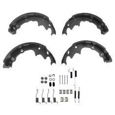84-02 Chrysler Jeep Multifit 9 Inch Rear Brake Shoe Set & Hardware Kit