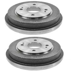90-02 Honda Accord Rear Brake Drum Pair