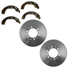 87-00 Toyota 4Runner; 87-95 Pickup; 93-98 T100; 95-04 Tacoma; 00-02 Tundra Brake Drum & Shoe Kit