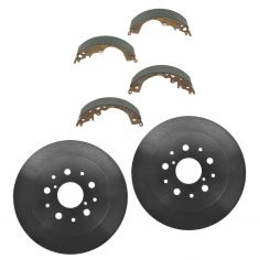 05-14 Toyota Tacoma (w/5 Wheel Studs) Rear Brake Drum & Brake Shoe Kit