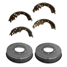 05-14 Toyota Tacoma (w/6 Wheel Studs) Rear Brake Drum & Brake Shoe Kit