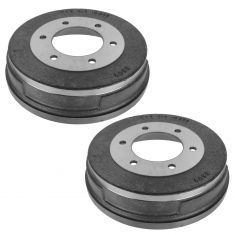 98-99 NIssan Frontier; 00-04 Frontier w/2WD & 2.4L Rear Brake Drum Pair