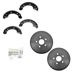 03-08 Toyota Corolla (US Built) Rear Brake Drum, Shoe & Hardware Set