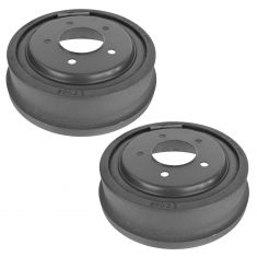 97-00 Ford F150; 01-04 F150 Heritage (exc Crew Cab) (5 Lug) Rear Brake Drum Pair