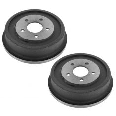 01-05 Aztek w/FWD; 05-06 Equinox; 06 Torrent; 02-07 Vue; 07 Vue Hybrid Rear Brake Drum Pair