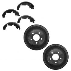 05-06 Equinox; 01-05 Aztek; 06 Torrent; 02-07 Vue; 07 Vue Hybrid Rear Brake Drum & Shoe Kit