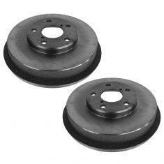 98-08 Subaru Forester L; 93-03 Impreza w/ABS Rear Brake Drum Pair