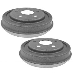 84-05 Chrysler, Dodge, Plymouth FWD Rear Brake Drum Pair