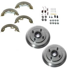 00-08 Ford Focus Rear Drum Shoe & Hardware Kit
