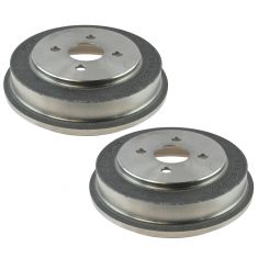 05-08 Cobalt; 07-08 G5, Pursuit; 03-07 Ion Rear Brake Drum Pair