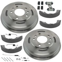 01-07 Escape Rear Brake Drum, Hardware, Shoes & Wheel Cylinder Kit