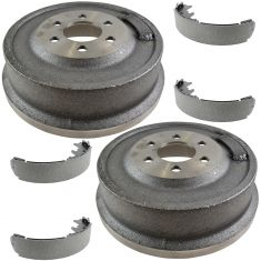 00-02 Dodge Dakota w/11 Inch Drum; 98-02 Durango Rear Brake Drum & Shoe Kit