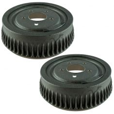 92-02 Chevy Truck Van Rear Brake Drum Pair