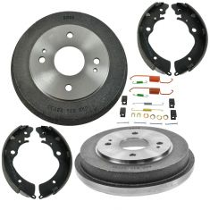 90-02 Honda Accord Rear Brake Drum Shoe & Hardware Kit