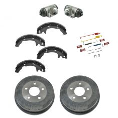 01-05 Mercury Sable; 01-07 Ford Taurus Rear Brake Drum, Shoe, Wheel Cylinder & Hardware Kit