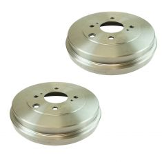 09-14 Cube; 07-12 Sentra; 07-12 Versa 1.8L Rear Brake Drum Pair