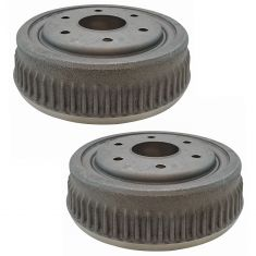 92-94 Blazer; 88-99 K1500; 95-00 Tahoe; 92-99 Yukon 10x2-1/4 Rear Brake Drum Pair