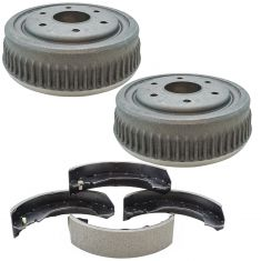 93-99 K1500; 95-00 Tahoe; 95-99 Yukon Rear Brake Drum & Shoe Kit
