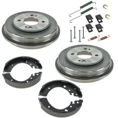 01-05 Civic 1.7L Rear Brake Drum, Shoes & Hardware Kit
