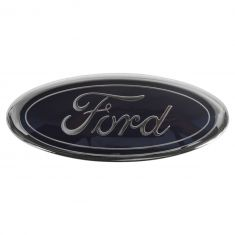 98 F150, F250, Expedition; 01-03 Ranger Grille Mtd ~Ford Oval~ Logoed Nameplate Emblem (Ford)