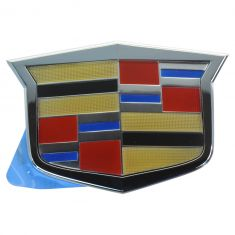 08-15 Cadillac CTS; 09-15 CTS-V; 08-09 STS (w/o ACC) Grille Mtd Cadillac Crest Emblem (GM)