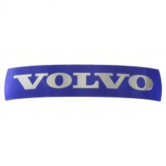 08-15 Volvo XC60 Grille Mounted Blue ~VOLVO~ Adhesive Nameplate Emblem (133mm X 32mm) (Volvo)