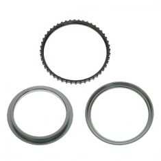 90-00 Toyota Multifit LF, RF; 99-00 RX300 LF, RF, LR, RR ABS Tone Ring (Set of 3)