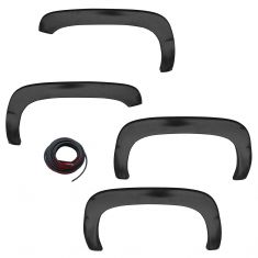 94-01 Ram 1500; 94-02 Ram 2500 PTM Finish Rugged Style Fender Flare Kit