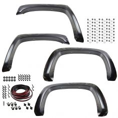 07-13 Chevy Silverado 6.5ft, 8ft bed (exc. DRW) PTM Pocket Bolt Style Fender Flare Kit