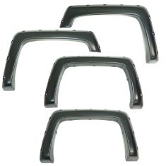 14-15 Silverado 1500; 15 2500/3500 (exc. DRW) 6.5ft, 8ft bed PTM Pocket Bolt Style Fender Flare Kit