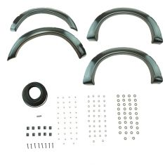 08-10 Ford F250, F350 (exc. DRW) PTM Pocket Bolt Style Fender Flare Kit