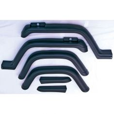 6-Piece Fender Flare Kit, 87-95 Jeep Wrangler (YJ)