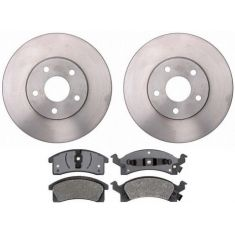 1996-98 Pontiac Grand Am Brake Pad & Rotor Kit Front