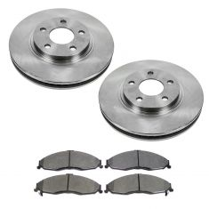 1998-02 Camaro Firebird Trans Am Brake Pad & Rotor Kit Front