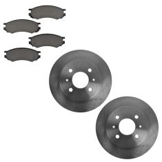 1993-01 Saturn Brake Pad & Rotor Kit Front