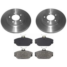 1994-00 Taurus Sable Brake Pad & Rotor Kit Front