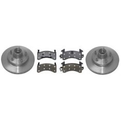 1979-81 Regal Malibu Grand Prix El Camino Monte Carlo Brake Pad & Rotor Kit Front