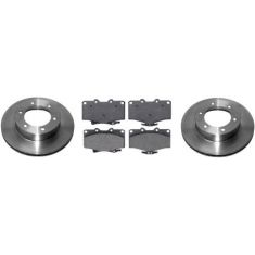 1996-02 Toyota 4Runner Brake Pad & Rotor Kit Front for Trucks With 15 inch Wheels