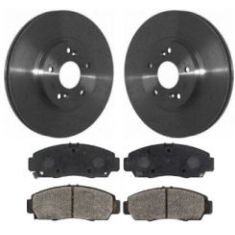 1999-04 Honda Accord Acura CL TL Brake Pad & Rotor Kit Front