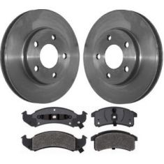 1996-99 Bonneville Lesabre Olds 88 Brake Pad & Rotor Kit Front