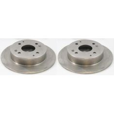 Rear Disc Brake Rotor PAIR (AUTO EXTRA AX31038)